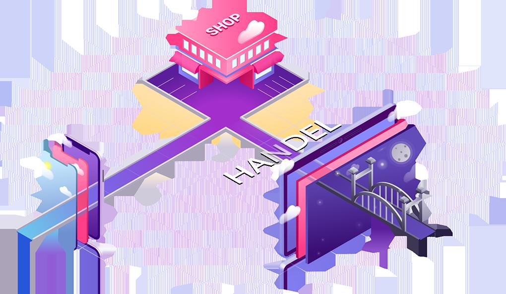 Webdesign Handel