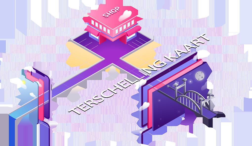 Webdesign Terschelling Kaart