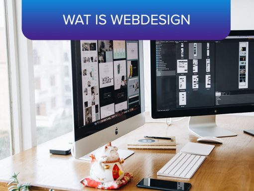 Wat is webdesign